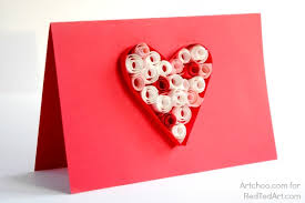 valentines cards s cards paper quilling for kids ted s