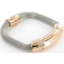 magnetic gold bracelet images Silver nour london bracelet silver and rose gold magnetic bracelet jpg