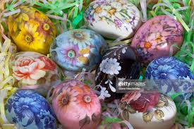 ceramic easter eggs painted ceramic easter eggs stock photo getty images