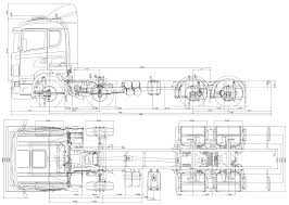 Free Blueprints Scania Lb 8x4 Heavy Truck Blueprints Free Outlines