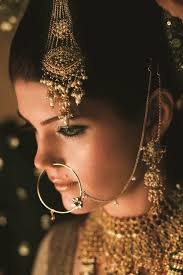 traditional muslim makeup jewellery and anarkalis rich