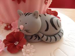 Cat Decor For The Home Best 25 Fondant Cat Ideas On Pinterest Fondant Animals Tutorial