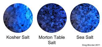 ratio kosher salt to table salt salt brines by archimedes principle
