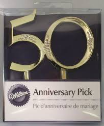 michael cake toppers wedding department gold 50th anniversary my
