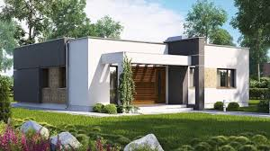 Two Bedroom Design 86 M A Compact Modern Two Bedroom House With Large Kitchen