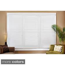 Cheap 2 Inch Faux Wood Blinds 60 Inches Shop The Best Deals For Nov 2017 Overstock Com