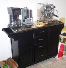 kitchen islands with stainless steel tops belham living espresso