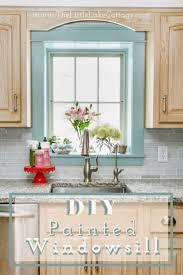 how to apply valspar cabinet paint diy painted windowsill valspar cabinet enamel review the