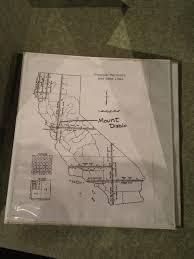 Mt Diablo State Park Map by Geocaching U003e Benchmark Hunting U003e Benchmark Details