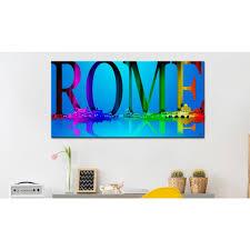 une chambre a rome cadres murales rome découvrez une collection des décorations