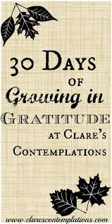 what is thanksgiving all about clare u0027s contemplations 2015