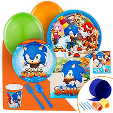 sonic party supplies sonic boom party supplies value party pack toys