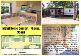 mobilhome 3 chambres mobil home confort 3 chambres cing le marais neuf cing