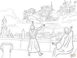 coloring pages boys 10 elisha invisible army coloring page army