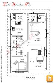 100 vastu floor plan single house 1000 sq ft kerala plans with