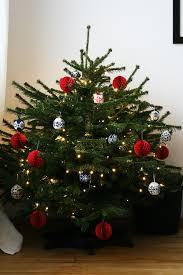 knitted christmas tree christmas lights decoration