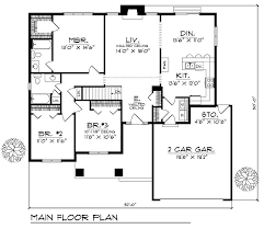 3 bedroom 2 house plans caribbean house plans affordable 3 bedrooms 2 baths colonial