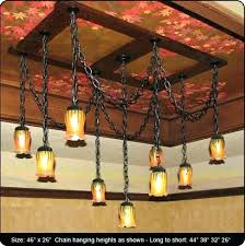 Mission Style Lighting Fixtures Mesmerizing Mission Style Pendant Lighting Mission Style Ceiling