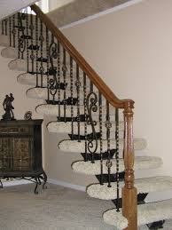 iron balusters stairs and traditional staircase good looking