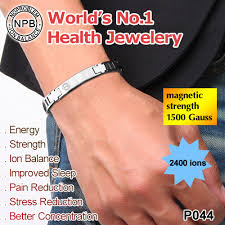 blood health bracelet images Mn44 new 2015 negative ions thealth benefits of magnetic bracelet jpg