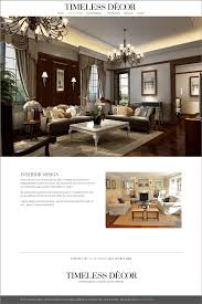 timeless decor interior design new website by envision creative nj