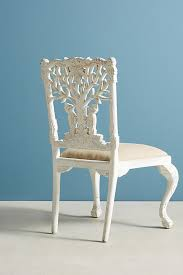 handcarved menagerie woodpecker dining chair anthropologie