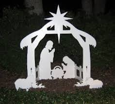Do It Yourself Outdoor Christmas Decorating Ideas - 7 best outdoor nativity images on pinterest christmas