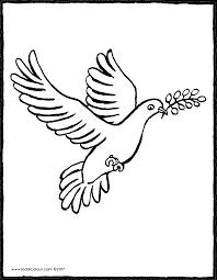 colombe  kiddicoloriage