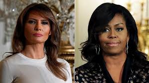 ms obamas hair new cut melania trump cuts bloated first lady payroll from michelle obama