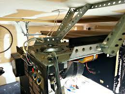 how do you install a garage door opener garage door openers cowtown garage door blog