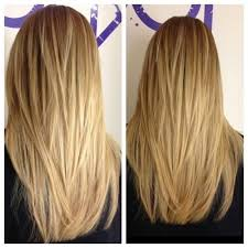 long layered cuts back the most amazing long v layered haircut pertaining to your hairstyle