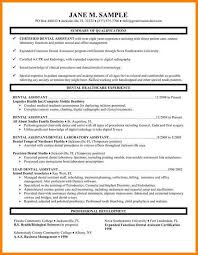 Dental Hygiene Resume Samples by Dental Hygiene Resume Template Dental Assistant Resume Template