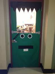 halloween door decoration ideas 58 frankenstein door decoration ideas party ideas on pinterest