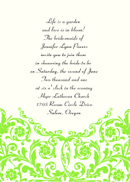 marriage invitation sle sle email wedding invitation to friends style by