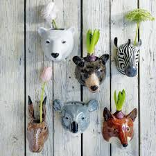 face planters 22 whimsical planters inspired by exotic wildlife