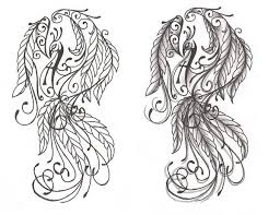 freebies phoenix tattoo design by tattoosavage on deviantart