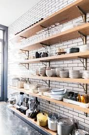 modern kitchen open shelving kitchen practical and trendy open shelving ideas for the modern
