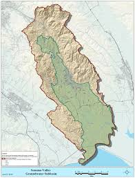 Map Of Sonoma County Sonoma Valley Groundwater Basin U2013 Sonoma County Sustainable