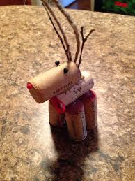 wine cork reindeer ornament fun and easy my originals