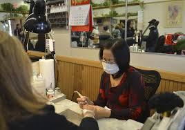 safety campaign tries to reshape nail salons the boston globe