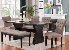 Microfiber Dining Room Chairs Dining Room Microfiber Parson Side Chair Combine With Wooden
