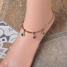 ankle bracelet with images Wholesale waterdrop ankle bracelet foot jewelry turkish vintage jpg