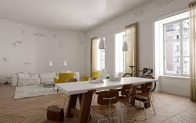 Appartement Haussmannien Deco Indogate Com Decoration Plafond Platre Cuisine