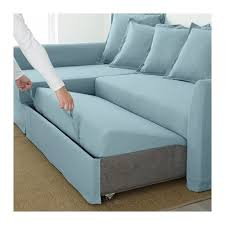 canapé lit d angle holmsund canapé lit d angle nordvalla gris moyen ikea