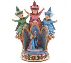jim shore disney traditions sleepingbeauty figurine page 1 qvc