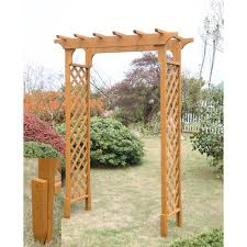 Garden Arbor Swing Convenience Concepts Planters And Potts Deluxe Garden Arbor