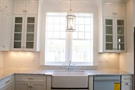Light Over Sink by Kitchen Lighting Light Above Sink Empire Brown Tiffany Crystal
