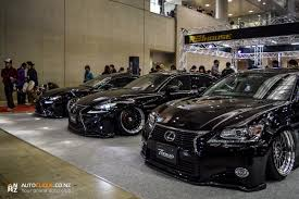 slammed lexus coupe 2015 tokyo auto salon drive life drive life