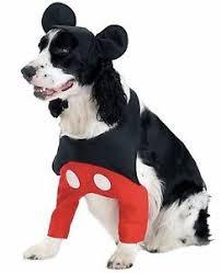 Halloween Pet Costume Mickey Mouse Pet Costume Disney Pet Halloween Dog Costume Ebay