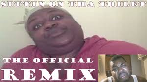 Sittin On Tha Toilet Meme - the official sittin on tha toilet parody big cheese feat nonnie